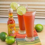 Pomegranate Michelada
