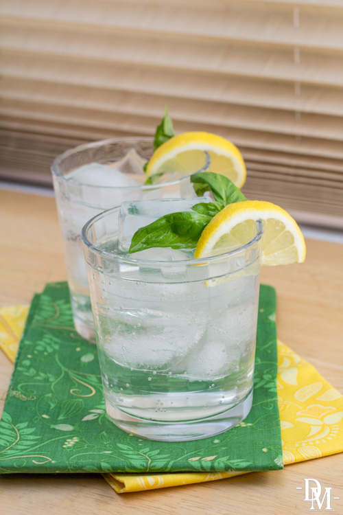 Basil-Lemon Refresher