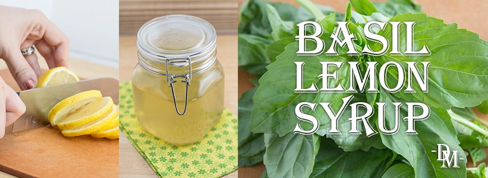 Basil-Lemon Syrup